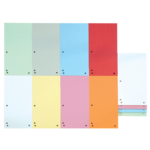 Индекс-разделитель Donau, 105х230 мм, 100 шт, картон, ассорти (8620100-99)