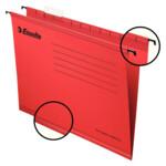 Файлы подвесные Esselte Classic 25 шт красные (90316)