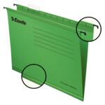 Файлы подвесные Esselte Classic 25 шт зеленые (90318)