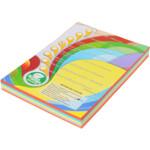 Цветная бумага IQ Intensiv Mix (ассорти 5 цветов), А4, 80 г/м2, 250 л (A4.80.IQ.RB02.250)
