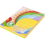 Цветная бумага IQ Neon Mix (ассорти 4 цвета), А4, 80 г/м2, 200 л (A4.80.IQ.RB04.200)