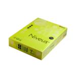 Бумага цветная неон. Niveus, А4/80, 500л., NEOGB, желтый (A4.80.NVN.NEOGB.500)