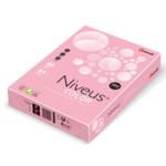 Бумага цветная Niveus пастель, А4/80, 500л., PI25, розовый (A4.80.NVP.PI25.500)
