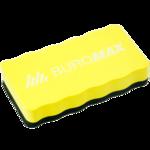Губка для сухостираемых досок с магнитом Buromax, желтый (BM.0074-08)