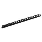 Пружины пластиковые Buromax, 6 мм, черный, 100 шт (BM.0500-01)
