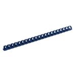 Пружины пластиковые Buromax, 8 мм, синий, 100 шт (BM.0501-02)