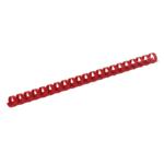 Пружины пластиковые Buromax, 8 мм, красный, 100 шт (BM.0501-05)