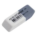 Ластик Buromax с абразивной частью белый (BM.1118)