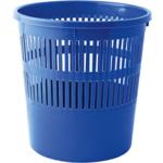 Корзина для бумаг с прорезями Buromax, 8 л, пластик, синяя (BM.1920-02)
