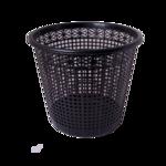 Корзина для бумаг Buromax, 8 л, пластик, черная (BM.1921-01)