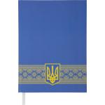 Ежедневник недатированный Buromax Ukraine, А5, 288 стр., синий (BM.2021-02)