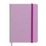 Ежедневник недатированный Buromax Touch Me, А5, 288 стр., светло-розовый (BM.2028-43)
