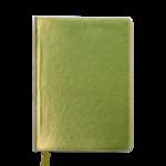 Ежедневник недатированный Buromax Metallic, А5, 288 стр., желтый (BM.2033-08)