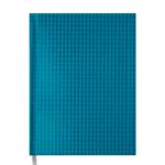 Ежедневник недатированный Buromax Diamante, А5, 288 стр., бирюзовый (BM.2047-06)