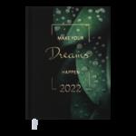 Ежедневник датированный 2022 Buromax MAGIC А5 зеленый 336 с (BM.2159-04)
