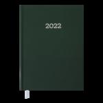 Ежедневник датированный 2022 Buromax MONOCHROME А5 зеленый 336 с (BM.2160-04)