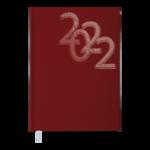 Ежедневник датированный 2022 Buromax OFFICEА5 красный 336 с (BM.2164-05)