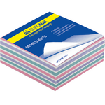 Блок бумаги для записей Buromax Зебра BM.2252, 80х80х30 мм, 400 лист, склеенный