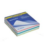Блок бумаги для записей Buromax Радуга Jobmax BM.2255, 80х80х20 мм, не склеенный