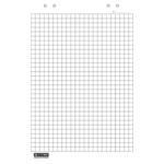 Блок бумаги для флипчарта Buromax BM.2297, клетка, 20 лист, 64х90 см