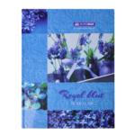 Книга канцелярская Buromax Boho Chic A4 в клетку 96 листов Синяя (BM.2400-202)