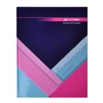 Книга канцелярская Buromax Modest A4 в клетку 144 листа Темно-Синяя (BM.24419102-03)