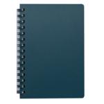 Книжка записная на пружине Buromax STATUS А6, 80л.,кл., пластик.обл., марэнго (BM.24652153-53)