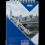 Блокнот Buromax Metropolis 48 листов А6 в клетку Синий (BM.24645101-02)