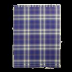 Блокнот на пружине сверху Buromax, А5, 48 л, клетка, синий (BM.2470-02)