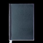 Ежедневник недатированный Buromax Perla A6 из бумвинила на 288 страниц Антрацит (BM.2606-42)