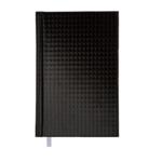 Ежедневник недатированный Buromax Diamante A6 из бумвинила на 288 страниц Черный (BM.2608-01)