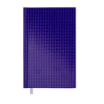 Ежедневник недатированный Buromax Diamante A6 из бумвинила на 288 страниц Фиолетовый (BM.2608-07)