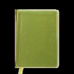 Ежедневник недатированный Buromax Metallic, А6, 288 стр., желтый (BM.2613-08)