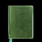 Ежедневник недатированный Buromax Metallic, А6, 288 стр., салатовый (BM.2613-15)