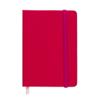 Ежедневник недатированный Buromax Touch Me, А6, 288 стр., розовый (BM.2614-10)