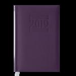Ежедневник датированный Buromax Belcanto, А6, фиолетовый (BM.2536-07)