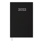 Ежедневник датированный 2022 Buromax MONOCHROME А6 черный 336 с (BM.2564-01)
