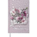 Ежедневник недатированный Buromax Daisy, А6, 288 стр., светло-розовый (BM.2601-43)