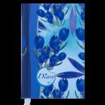 Ежедневник недатированный Buromax Celine A6 из полиграфической бумаги на 288 страниц Голубой (BM.2602-14)