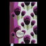 Ежедневник недатированный Buromax Celine A6 из полиграфической бумаги на 288 страниц Вишневый (BM.2602-44)