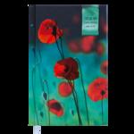 Ежедневник недатированный Buromax Grace, А6, 288 стр., темно-бирюзовый (BM.2603-35)