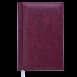 Ежедневник недатированный Buromax Base(Miradur) A6 из бумвинила на 288 страниц Бордовый (BM.2604-13)