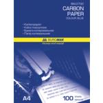 Бумага копировальная Buromax, А4, синяя, 100 л (BM.2700)