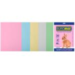 Набор цветной бумаги Buromax, А4, 80г/м2, PASTEL, 5 цветов, 20 листов (BM.2721220-99)