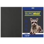 Бумага цветная Buromax. А4, 80г/м2, DARK, черный, 20 листов (BM.2721420-01)