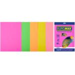 Набор цветной бумаги Buromax, А4, 80г/м2, NEON, 5 цветов, 20 листов (BM.2721520-99)