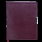 Еженедельник датированный Buromax SALERNO, A4, 136 стр., бордовый (BM.2781-13)