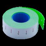 Ценник 22*12мм (1000шт, 12м), прямоугольный, внутренняя намотка, зеленый (BM.281101-04)