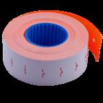 Ценник 22*12мм (1000шт, 12м), прямоугольный, внутренняя намотка, оранжевый (BM.281101-11)