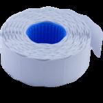 Ценник 26*16мм (1000шт, 16м), фигурный, внутренняя намотка, белый (BM.281203-12)
